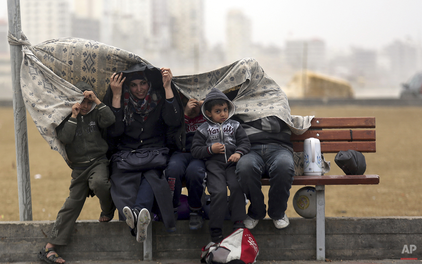 Mideast Palestinians Daily Life