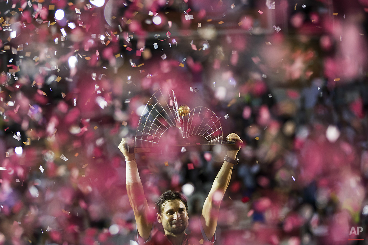 APTOPIX Brazil Rio Open Tennis