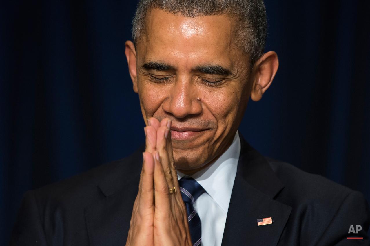 APTOPIX Obama Prayer Breakfast
