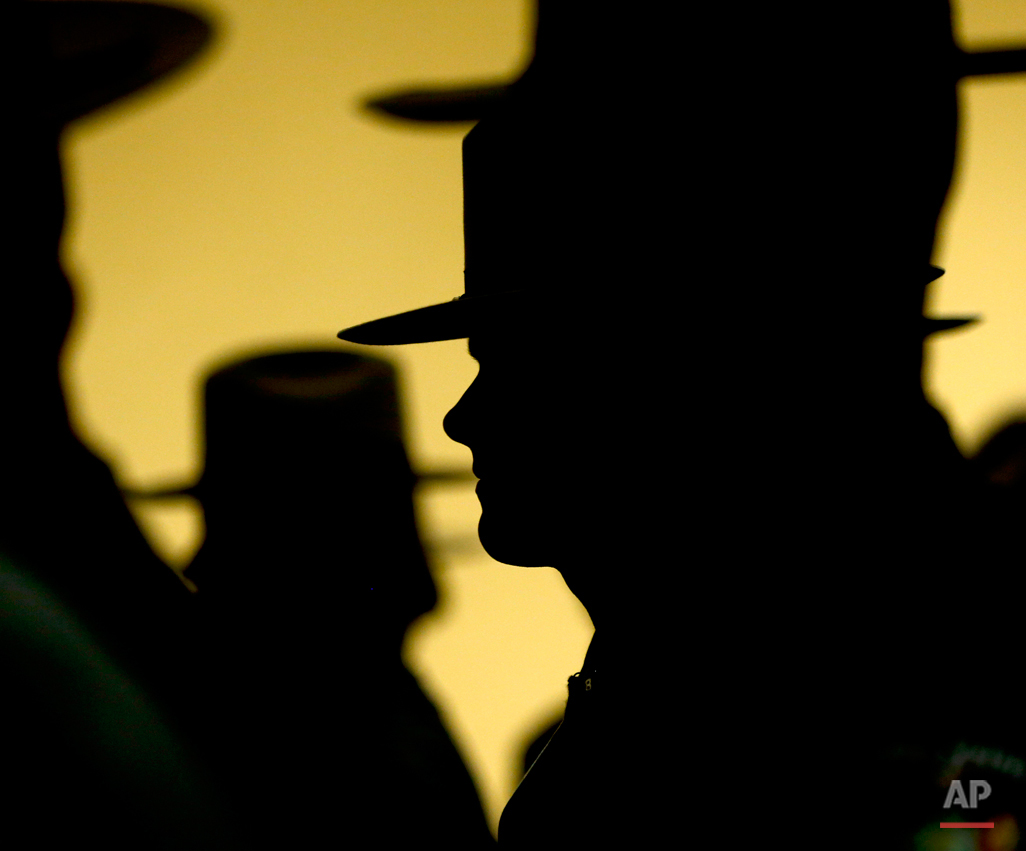 APTOPIX NY State Police Graduation