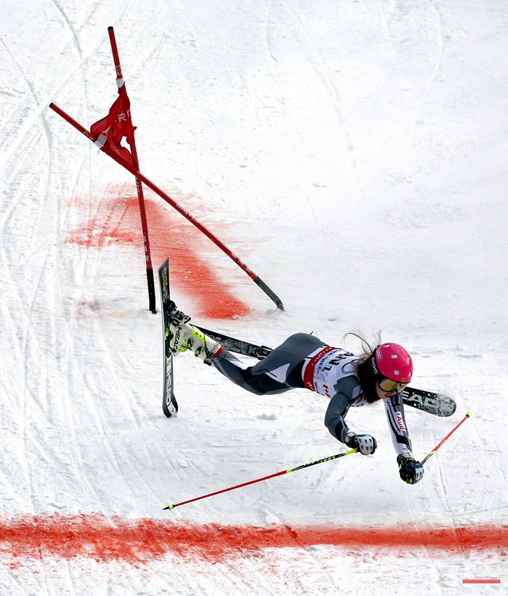 APTOPIX Worlds Team Skiing