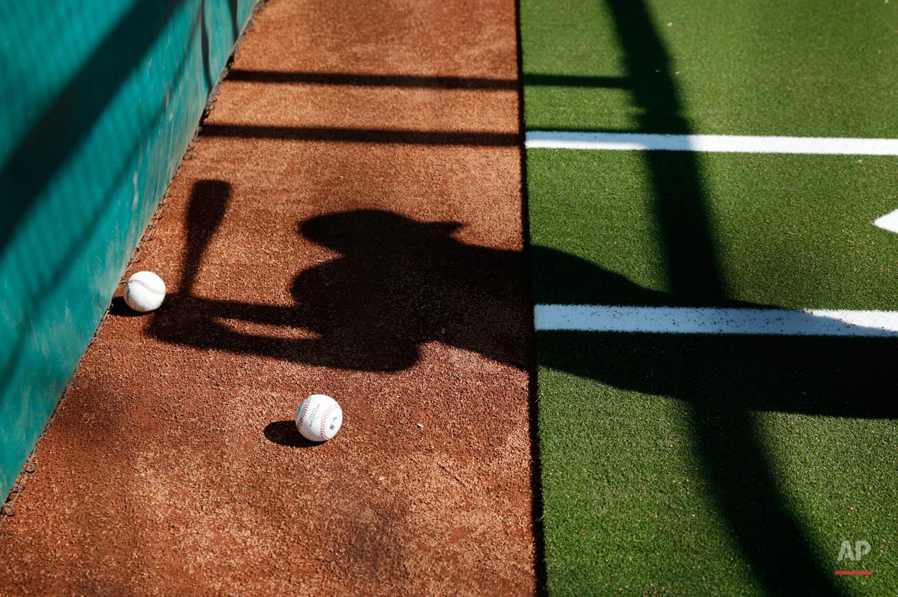 APTOPIX Indians Spring Baseball