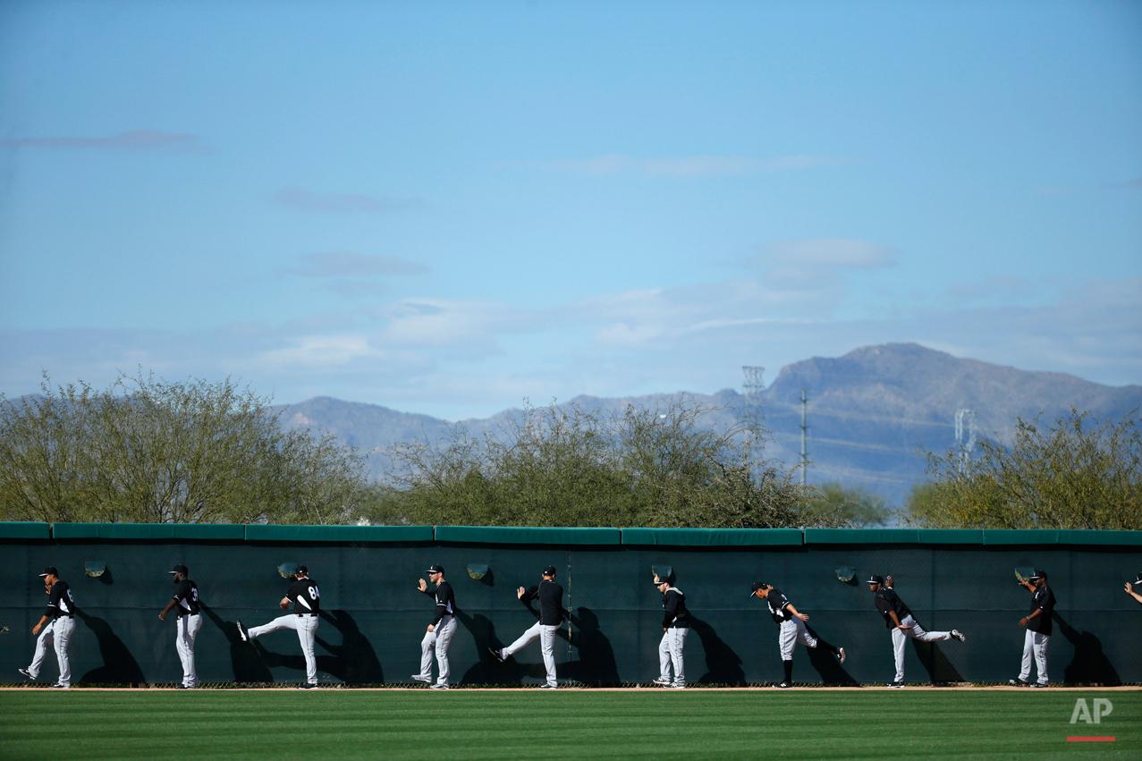 APTOPIX White Sox Spring Baseball
