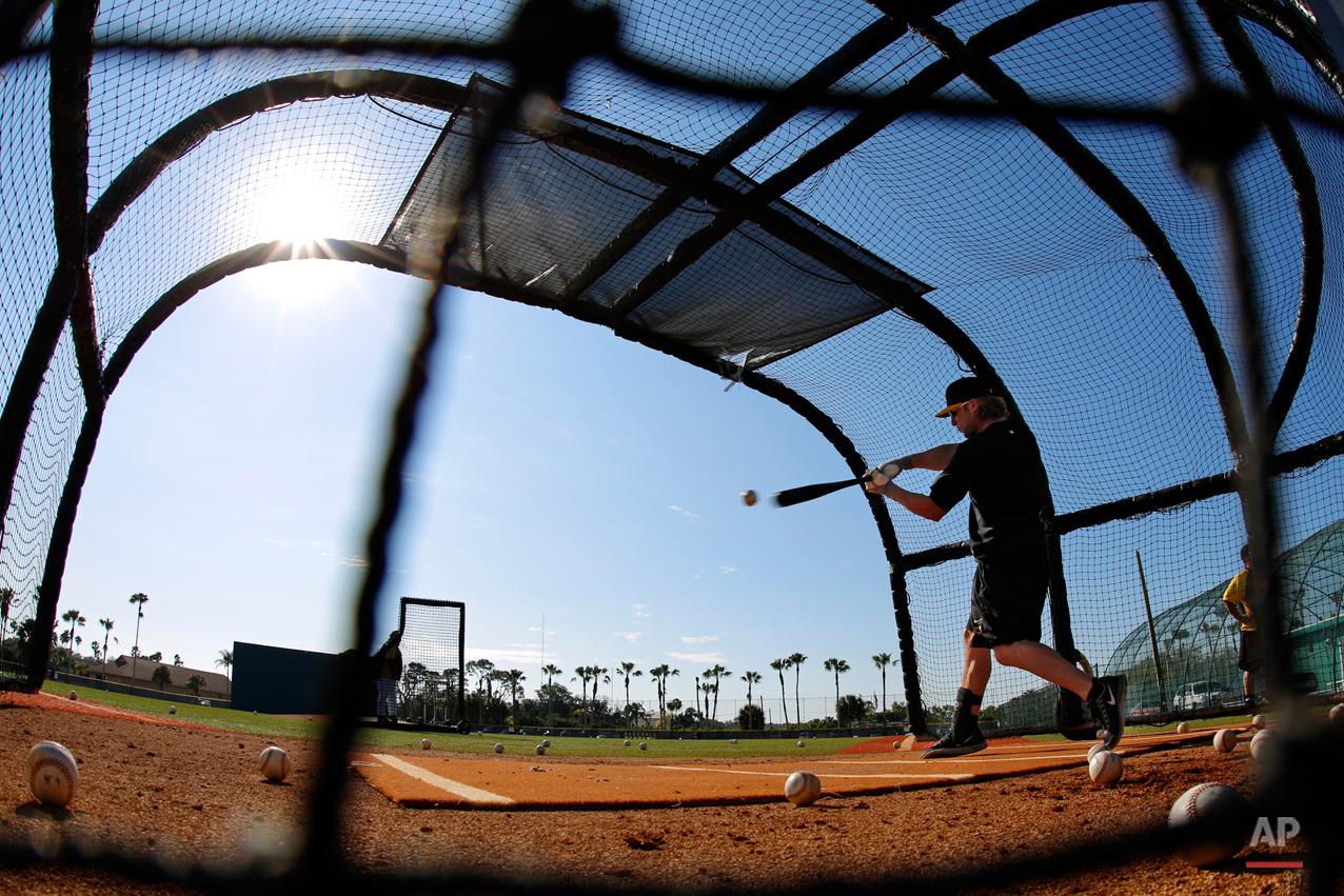 APTOPIX Pirates Spring Baseball