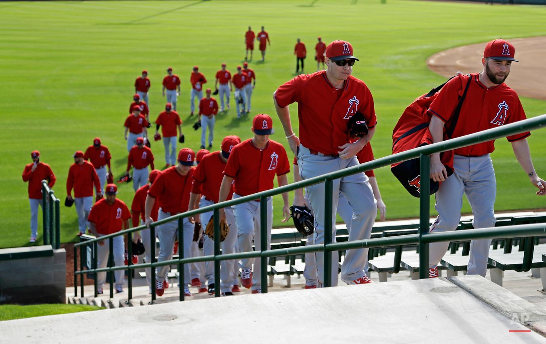 Angels Spring Baseball