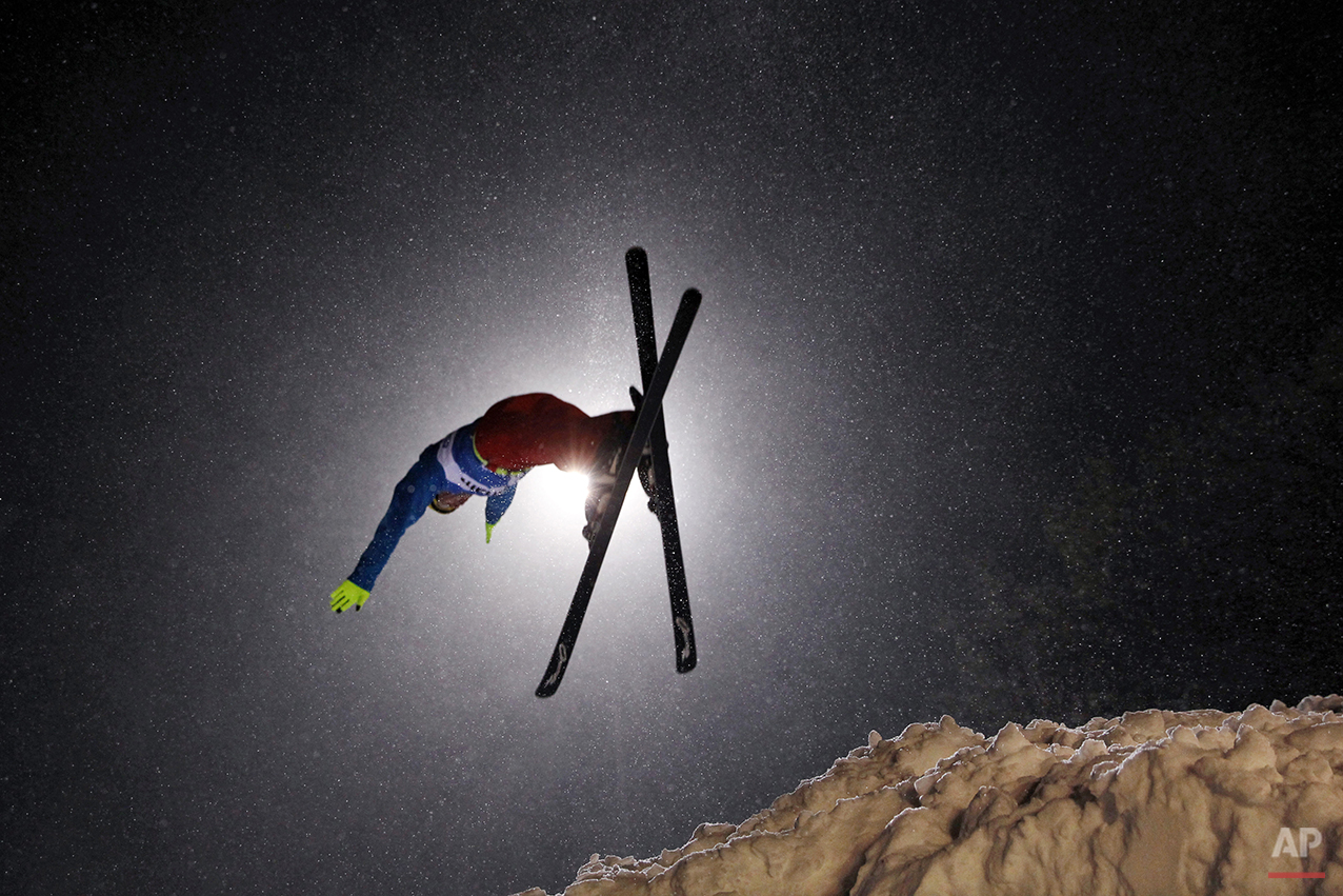 APTOPIX World Cup Freestyle Aerials Skiing