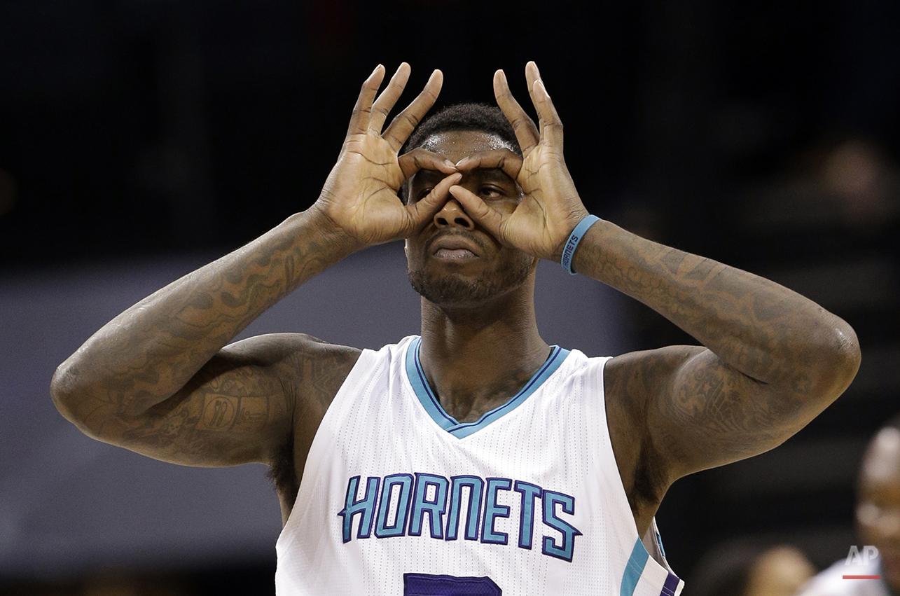 APTOPIX Wizards Hornets Basketball