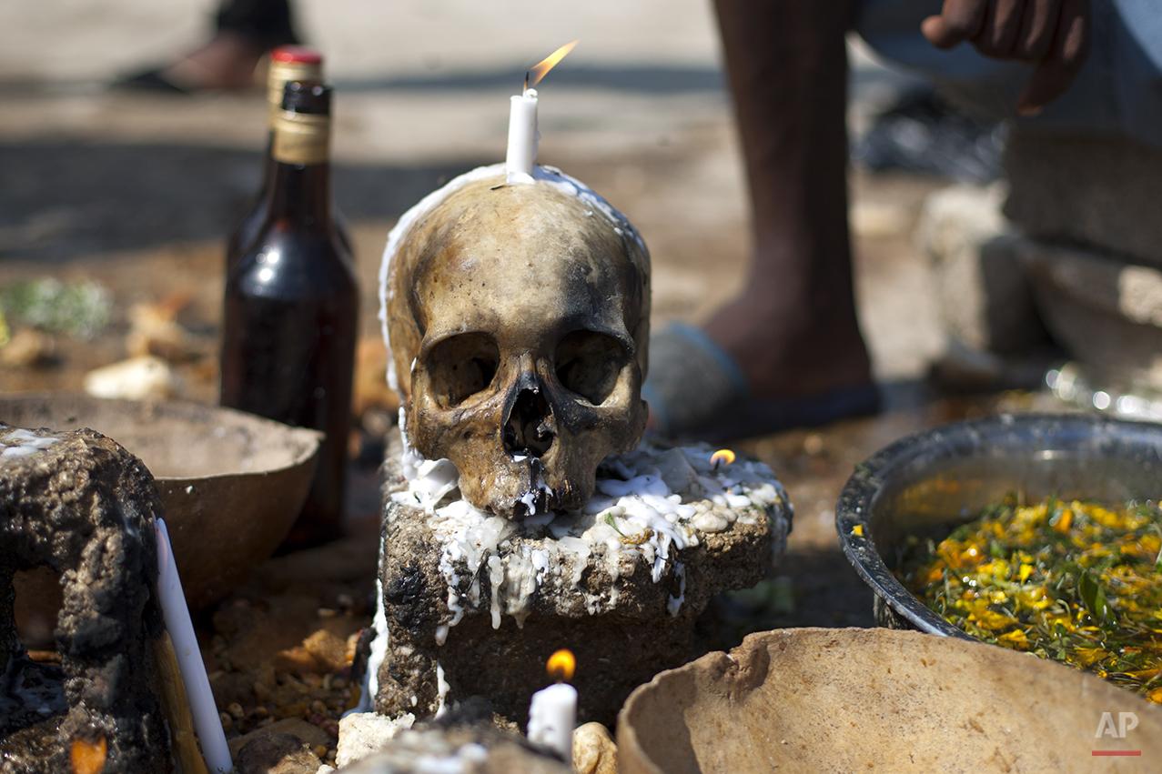 APTOPIX Haiti Day of the Dead