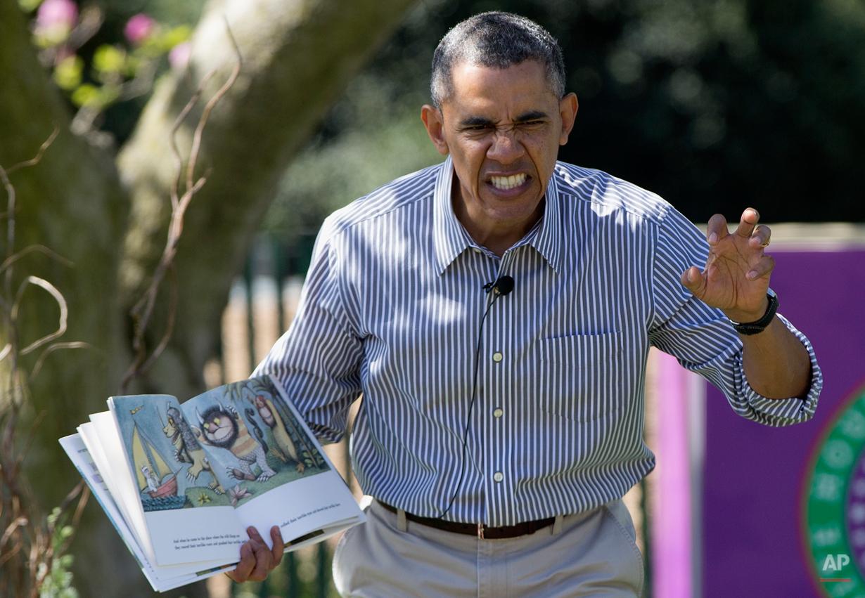 YE Obama Easter Egg Roll