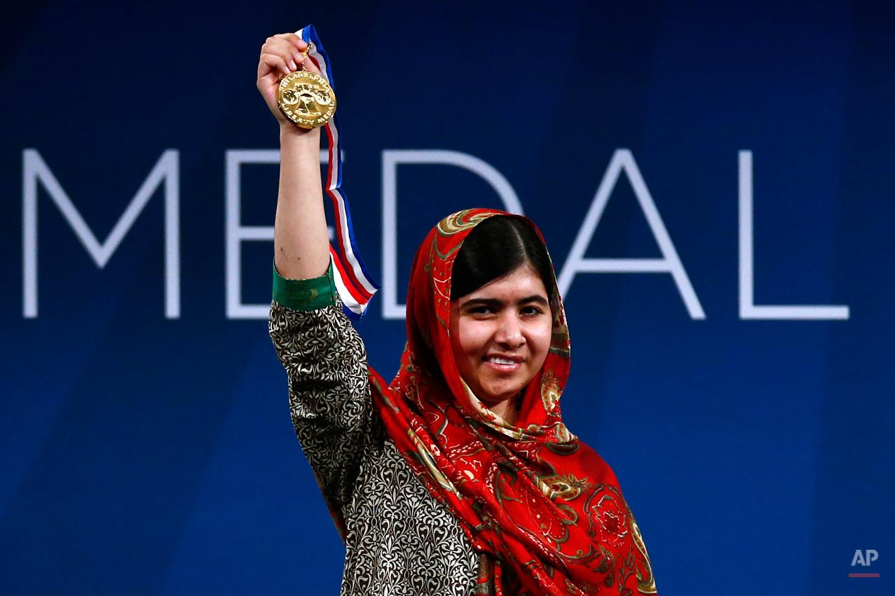 YE Malala Liberty Medal