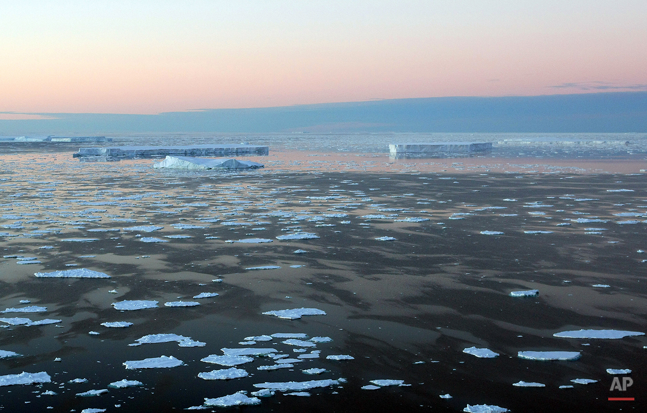 Antarctica Australia Global Warming