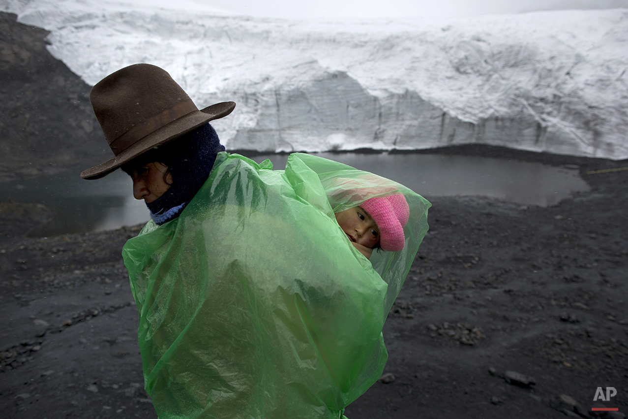 APTOPIX Peru Climate Change Conference