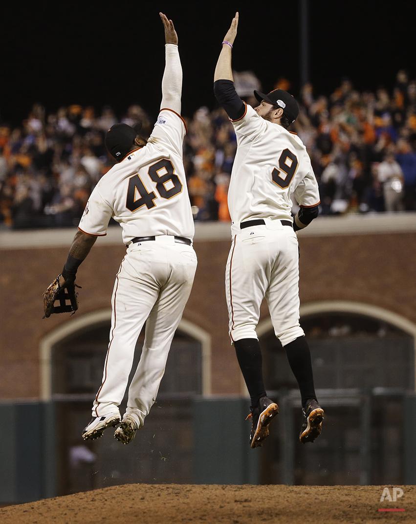 APTOPIX World Series Royals Giants Baseball