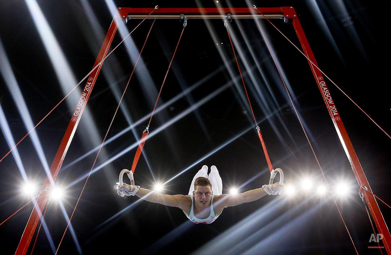 APTOPIX Britain Commonwealth Games