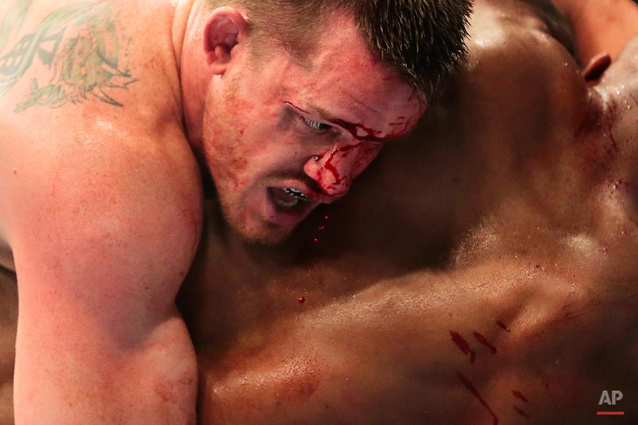 APTOPIX Germany UFC Mixed Martial Arts