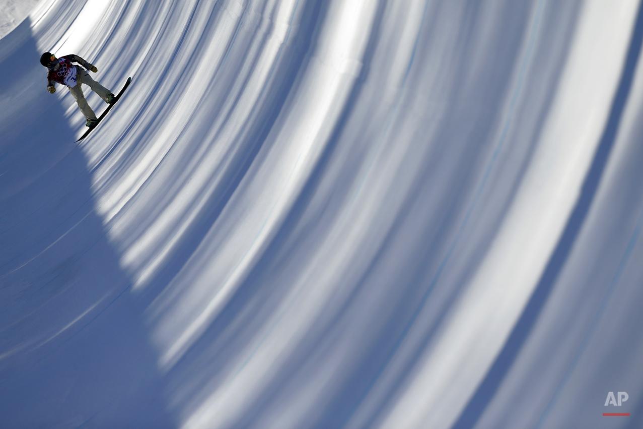 APTOPIX Sochi Olympics Snowboard Women