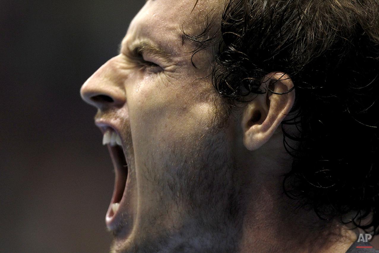 APTOPIX Spain Valencia Open Tennis