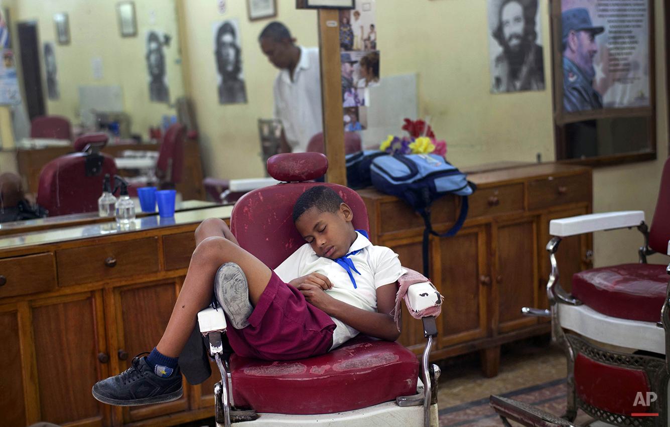 APTOPIX Cuba Daily Life
