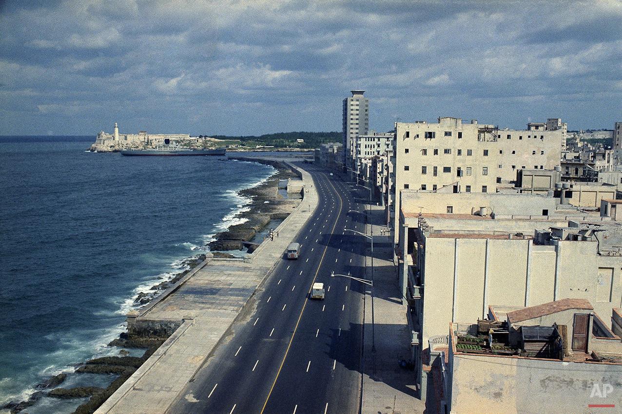 El Malecon Havana Cuba 1971