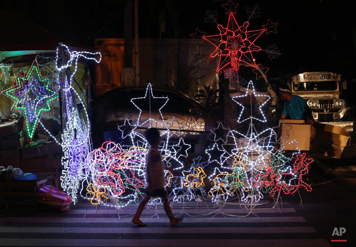 APTOPIX Philippines Christmas