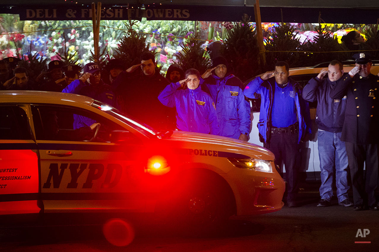 ADDITION APTOPIX  NYPD Officers Shot