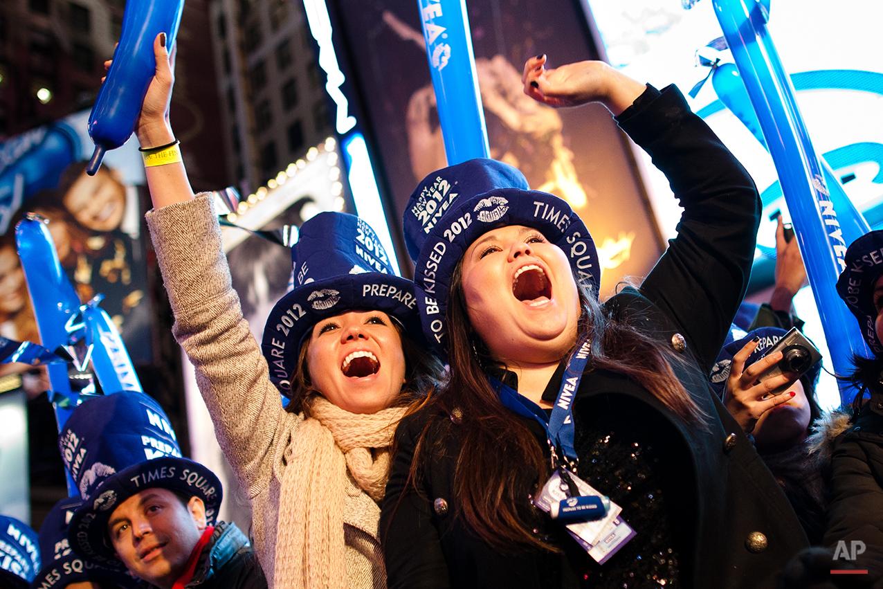 APTOPIX New Years Eve NYC