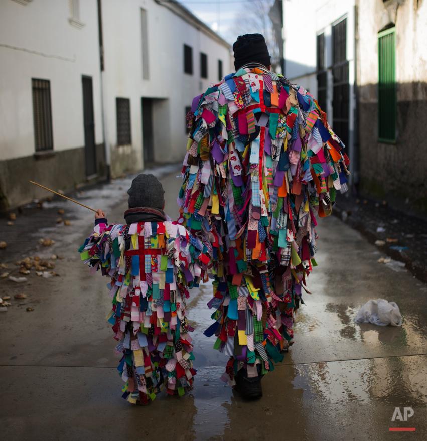 Spain Jarramplas Festival