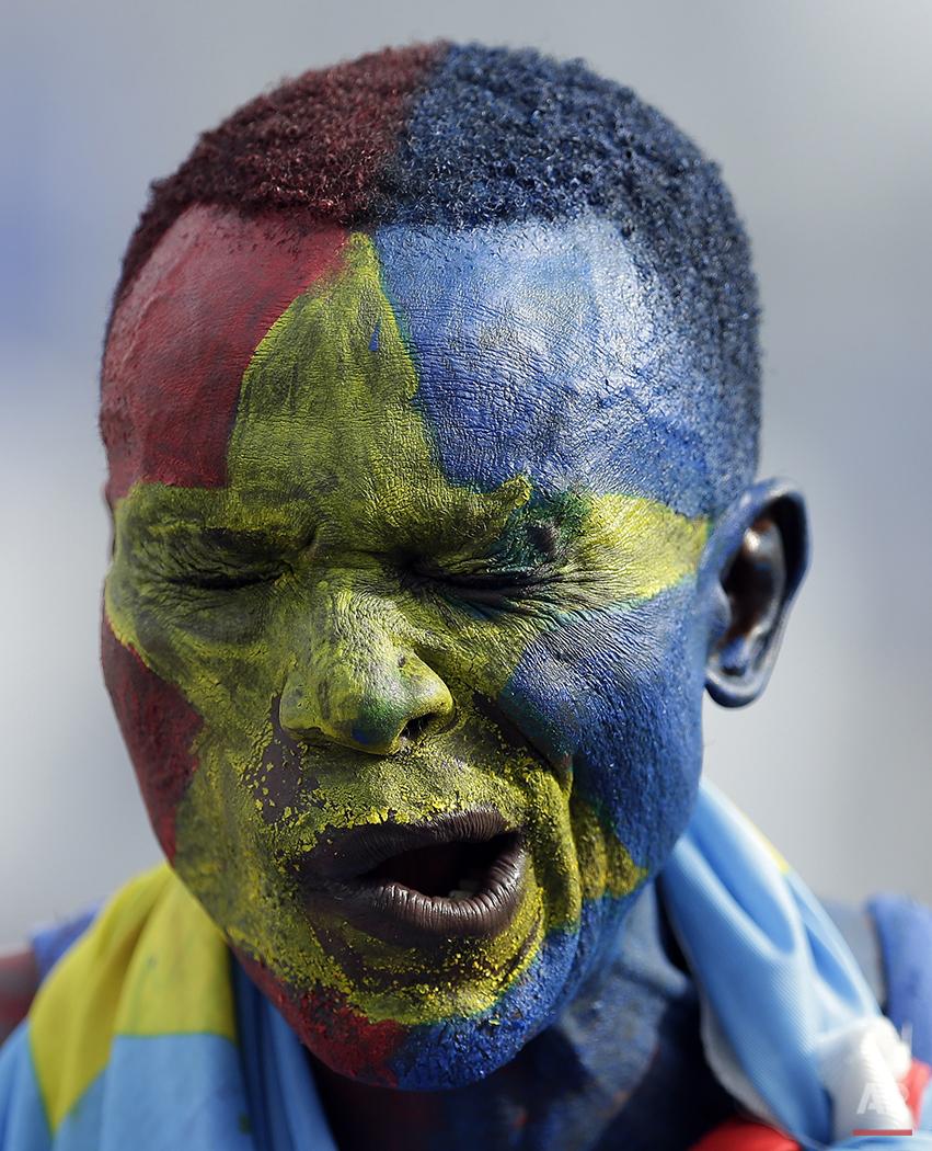 APTOPIX Equatorial Guniea Soccer African Cup