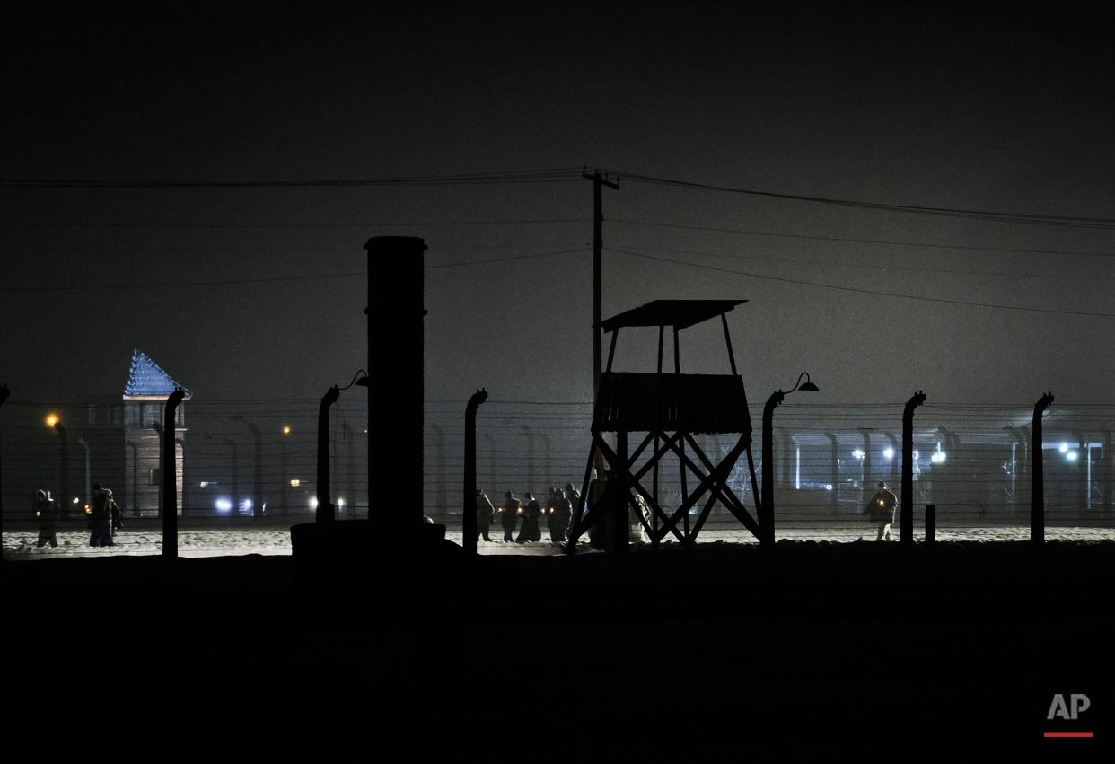 APTOPIX Poland Auschwitz Anniversary