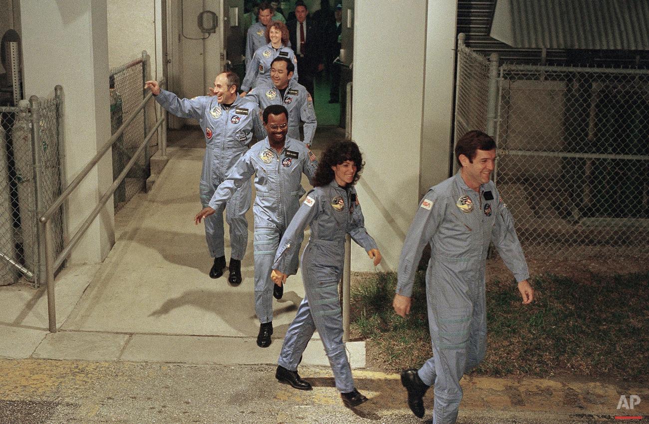 Space Shuttle Challenger 1986