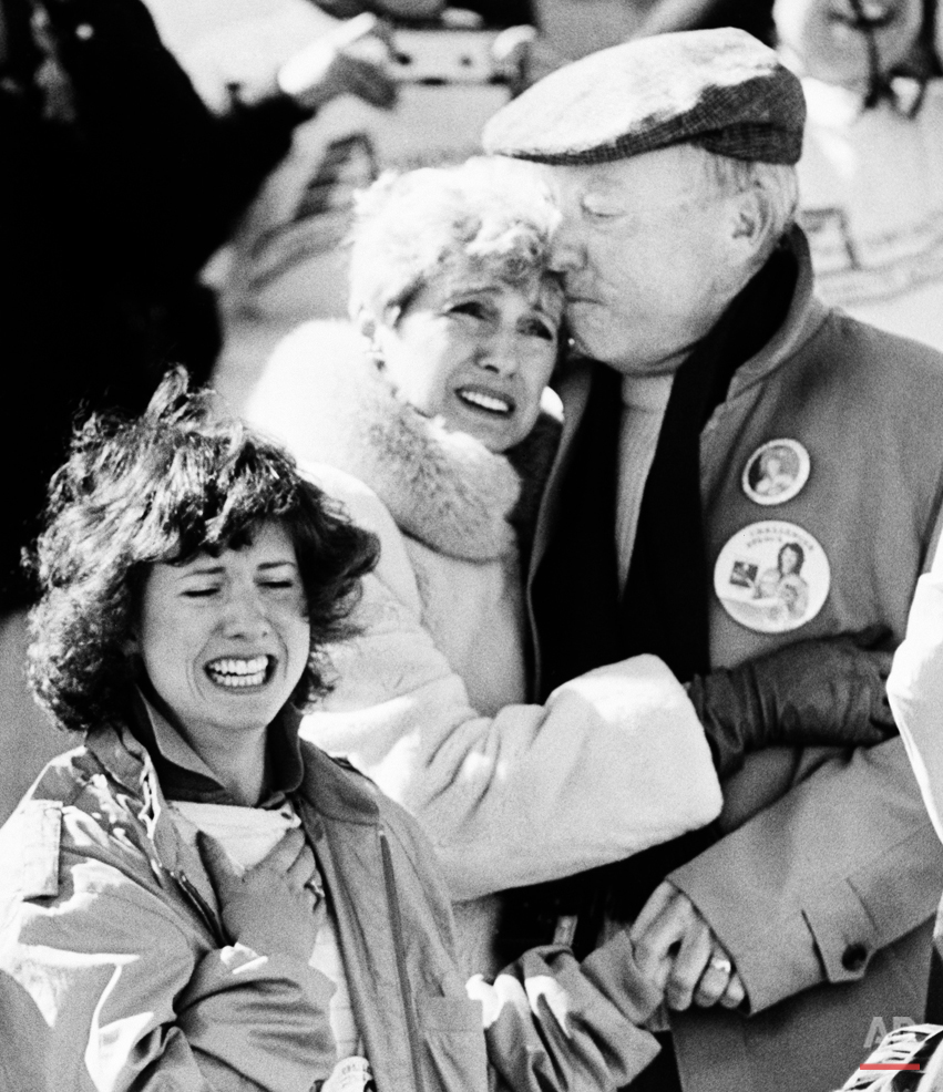 Parents of Christa McAuliffe and Sister