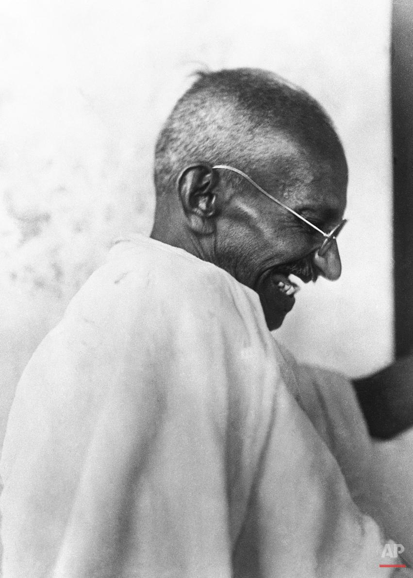 Mahatma Gandhi Laugh