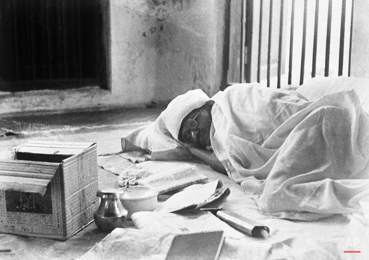 Mahatma Gandhi Sleep