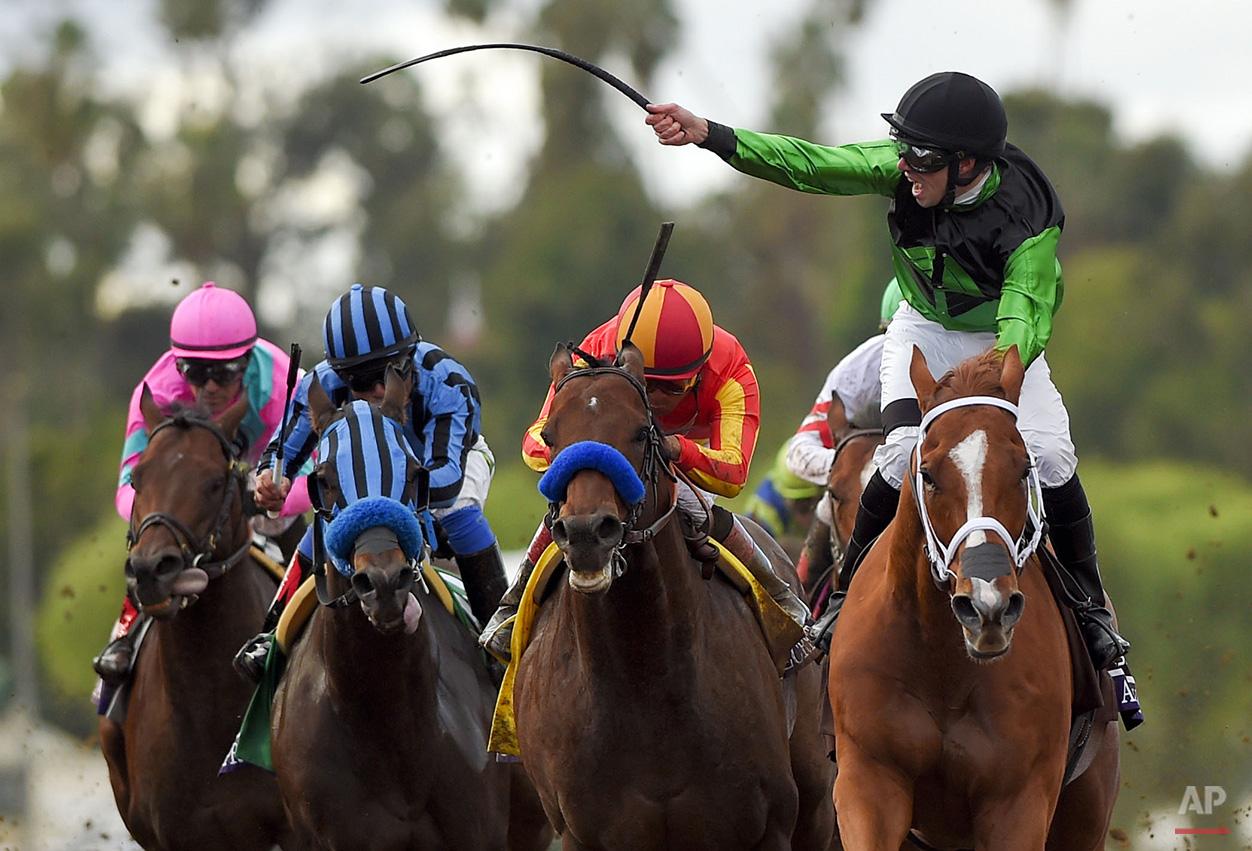 APTOPIX Breeders Cup Sprint Horse Racing