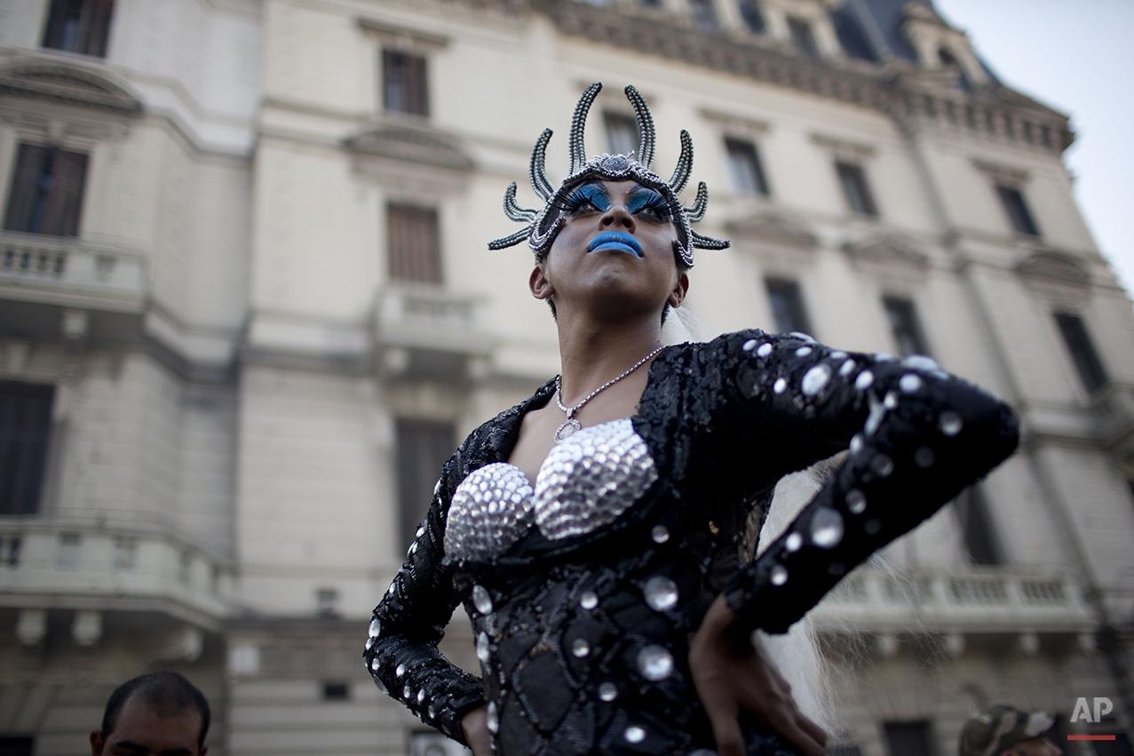 APTOPIX Argentina Gay Pride Parade