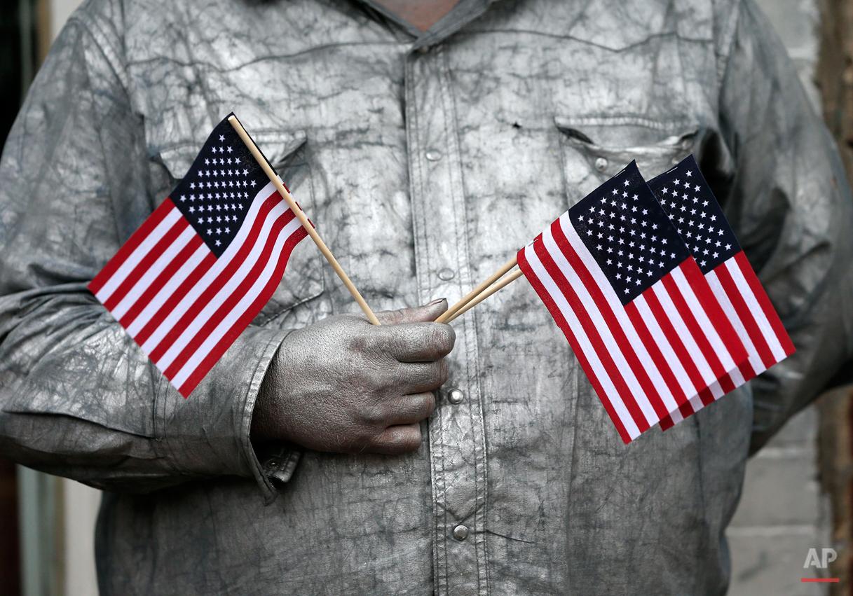 APTOPIX Veterans Day