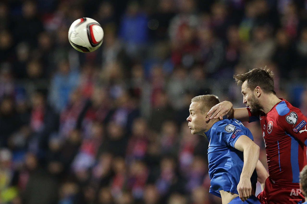 APTOPIX Czech Republic Iceland Euro Soccer