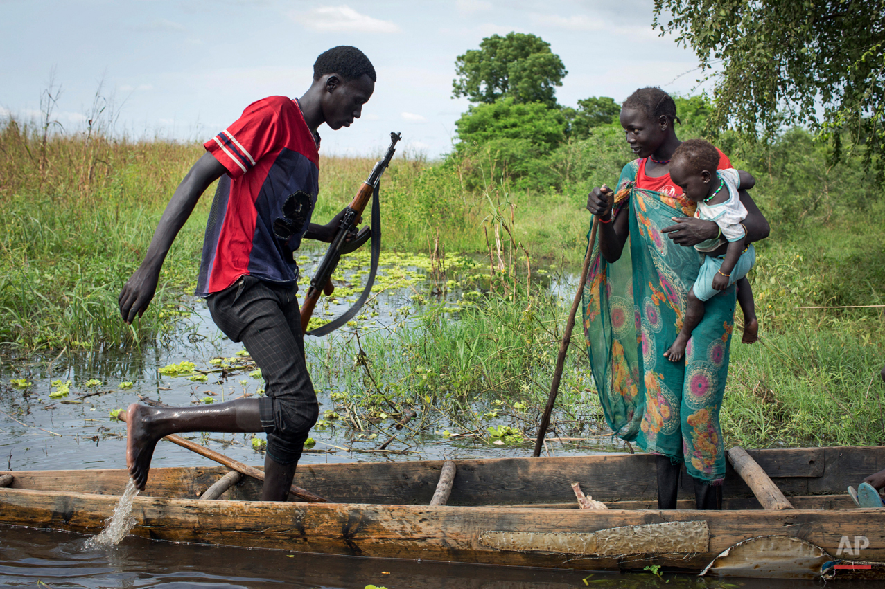 APTOPIX South Sudan Fighting