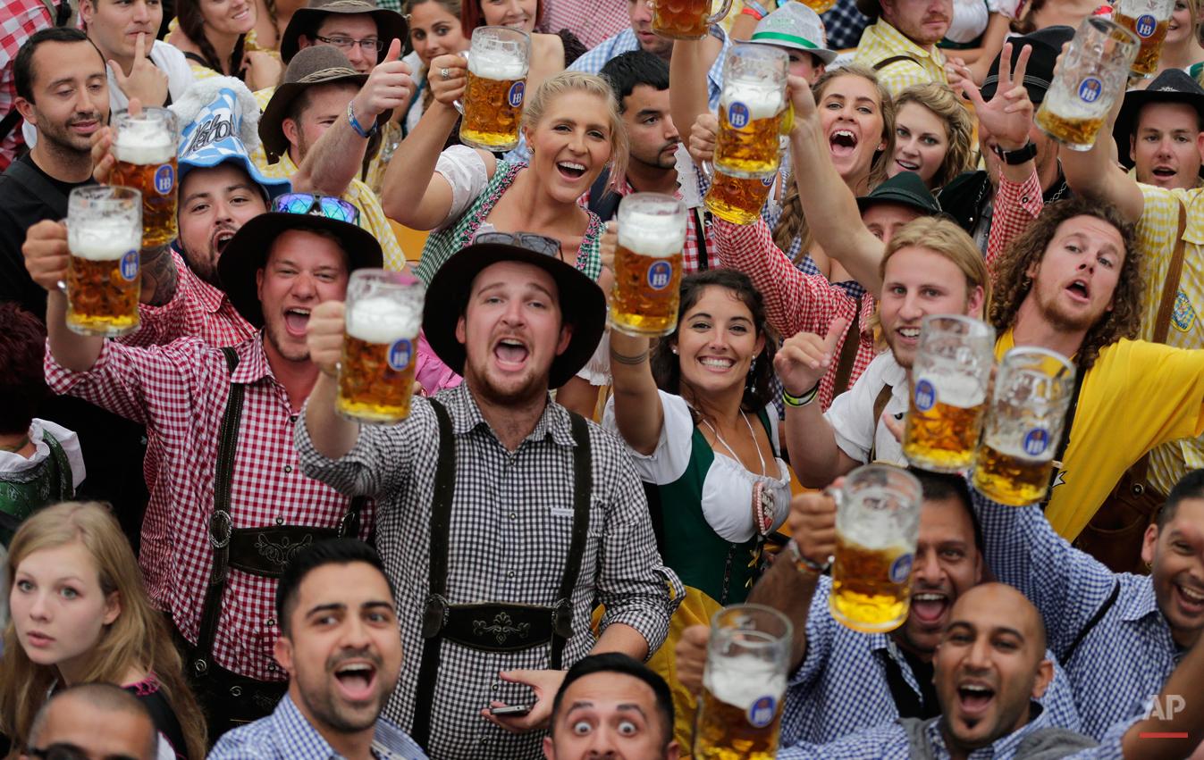 APTOPIX Germany Oktoberfest Opening
