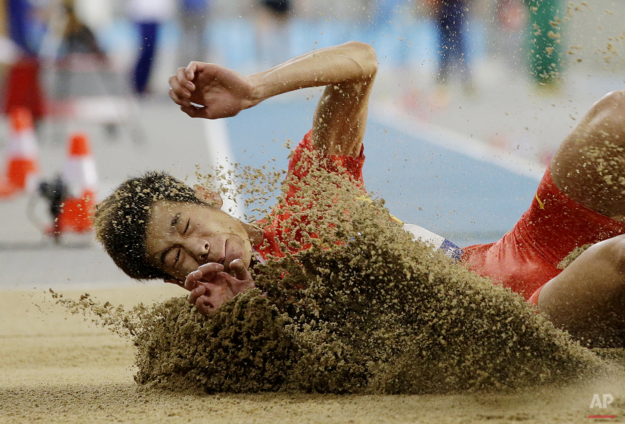 APTOPIX South Korea Asian Games Athletics