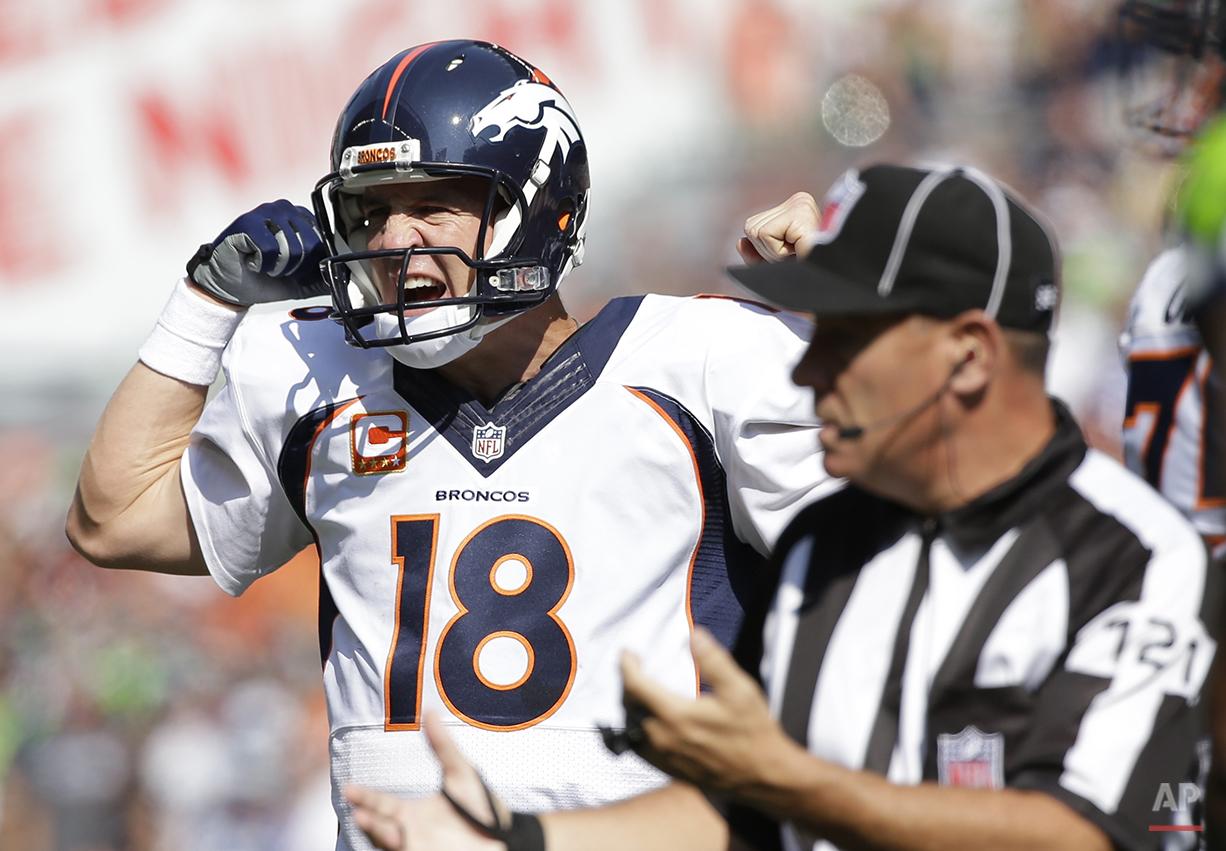 Broncos Seahawks Football