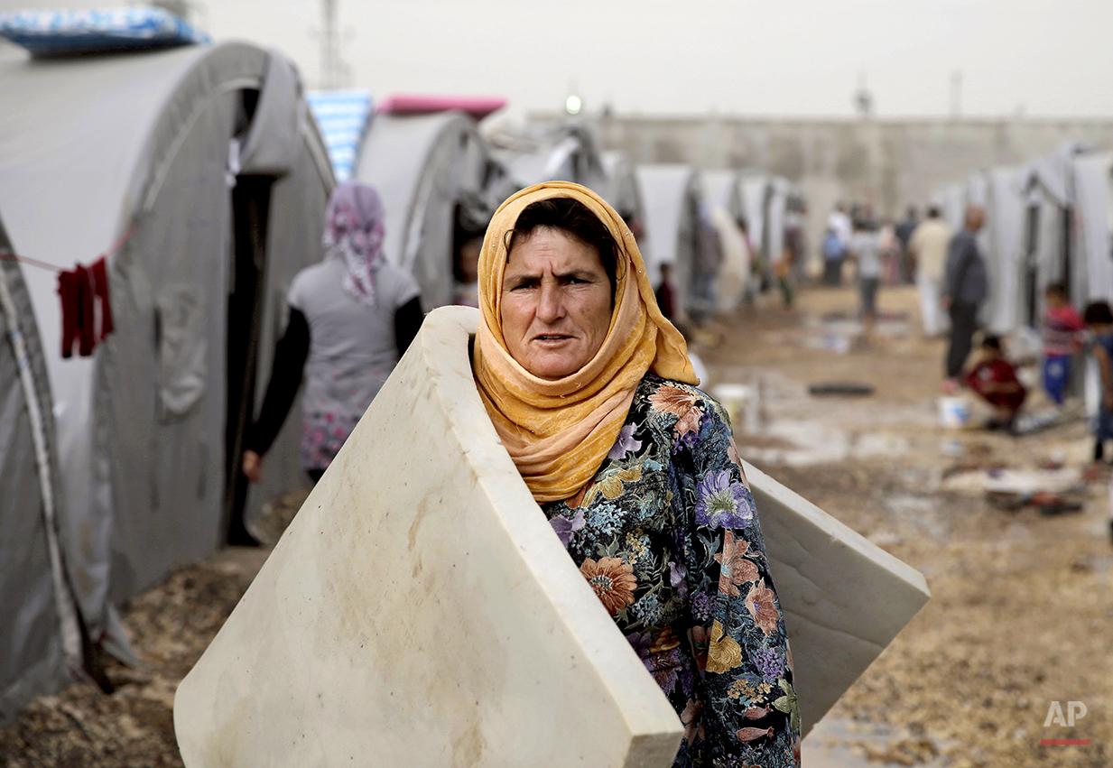 Mideast Syria Battle of Kobani