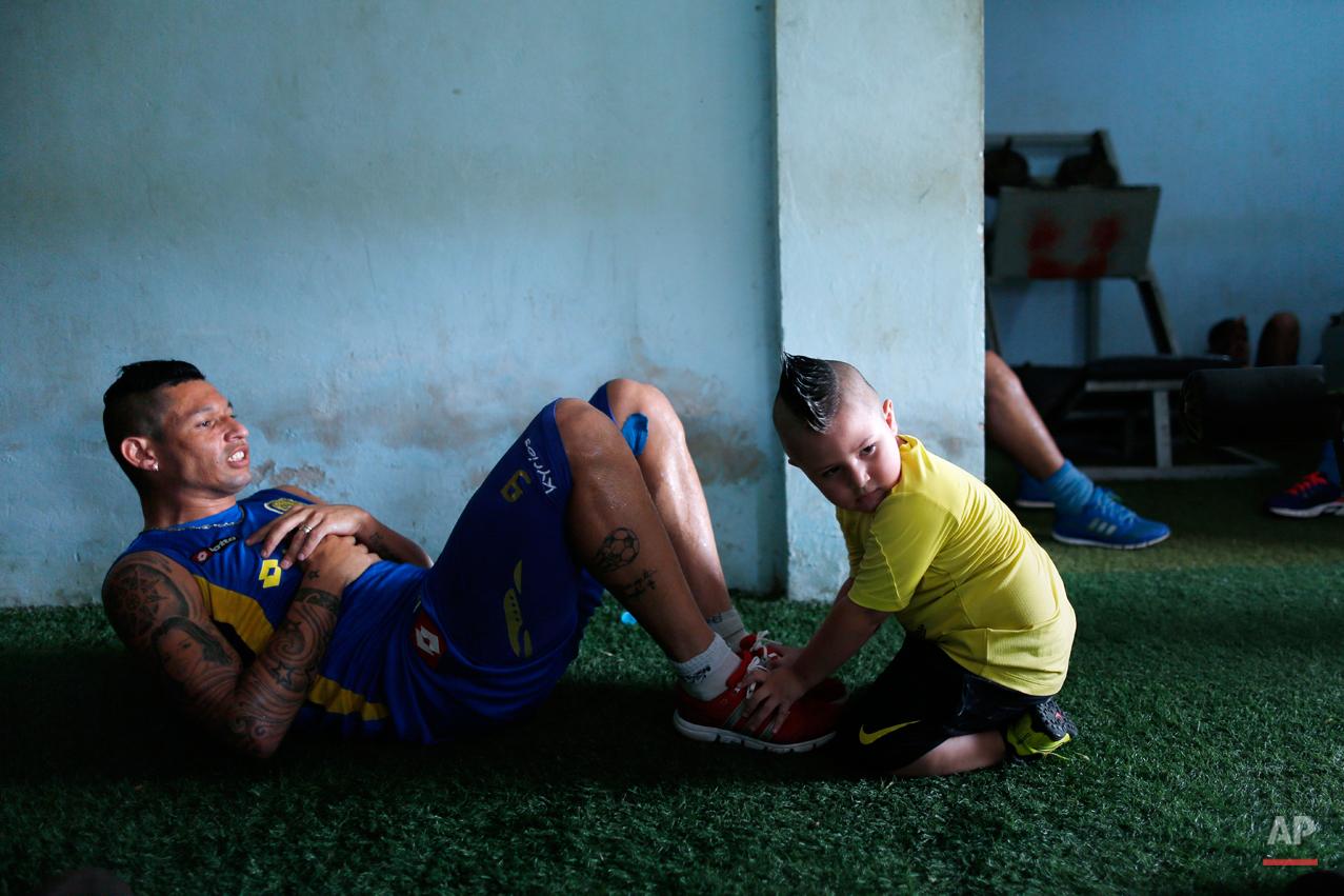 APTOPIX Paraguay Little Club Photo Essay