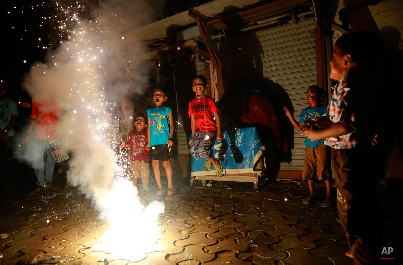 APTOPIX India Diwali