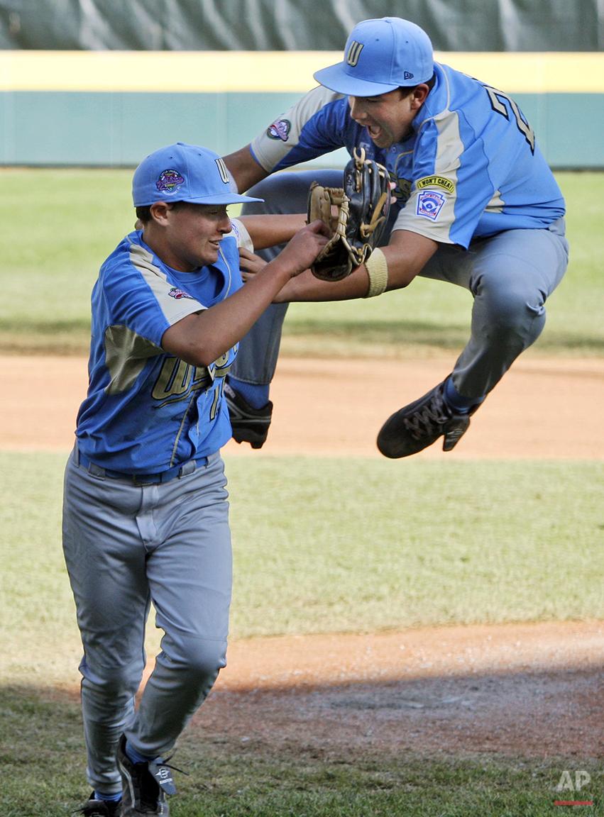 LLWS Taiwan California Baseball