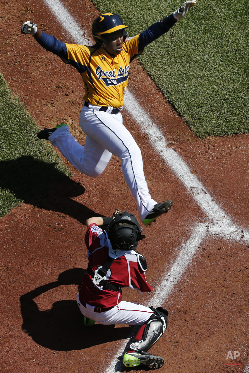 APTOPIX LLWS Illinois Washington Baseball
