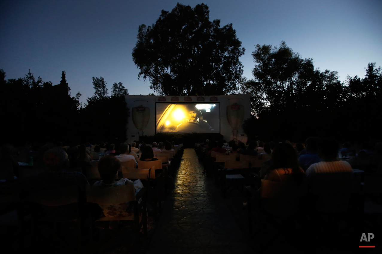 Greece Outdoor Cinemas Photo Essay