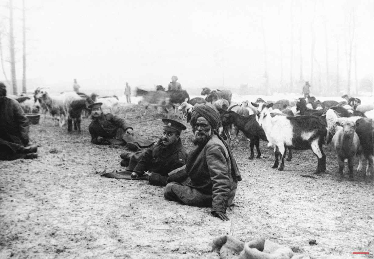 WWI: Indian army