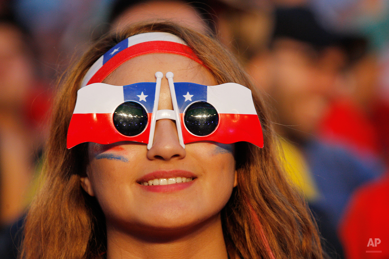 Brazil Soccer WCup Chile