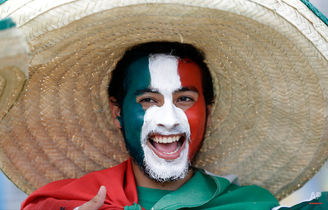 Brazil Soccer WCup Brazil Mexico